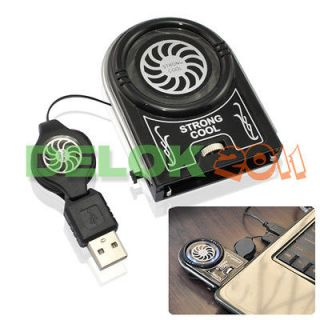 Mini USB Air Cooler Idea Cooling Fan for Laptop Notebook USA Ship