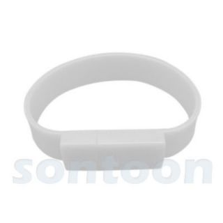 4GB Silicone Sport Wrist Bracelet Laptop PC USB Memory Flash Drive new