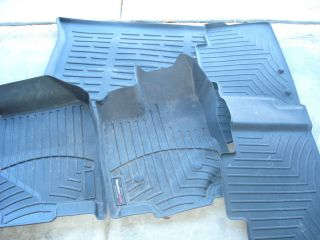 listed WeatherTech Floor Mats 2012 Ford Edge front, rear and cargo
