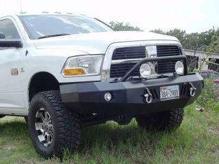 New Road Armor Style Winch Front Bumper 2010 2011 2012 Dodge Ram 2500