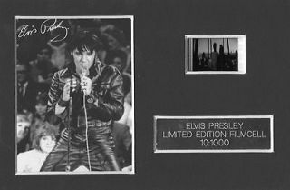 ELVIS PRESLEY THE KING Graceland Film Cell Memorabilia Collectable