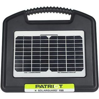 PATRIOT SOLAR GUARD 155 FENCER★ELECTRIC FENCE ENERGIZER CHARGER