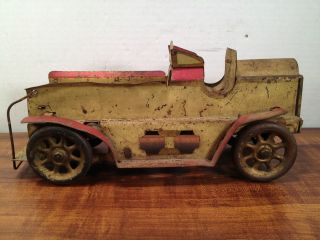 Antique Pressed Steel Fire Truck