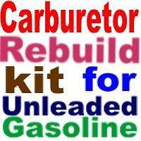 Carburetor Kit for Carter BBD AMC Jeep 77 78 79 80 81  clean out your