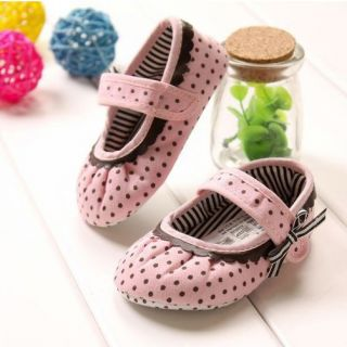 pink mary jane shoes toddler baby girl Soft Sole Infanta outfits gifts
