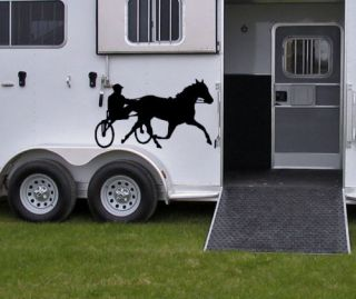 HORSE VINYL DECAL, STICKERS , TRAILER KIT5