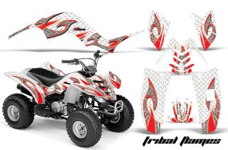 QUAD ATV GRAPHIC DECAL STICKER KIT STICKER YAMAHA RAPTOR 80 PARTS TFR