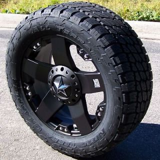 XD ROCKSTAR WHEELS & NITTO TERRA GRAPPLER TIRES JEEP WRANGLER JK 5 LUG
