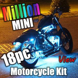 MILLION COLOR MINI SMD LED MOTORCYCLE LIGHT KIT for TRIKE & TOURING