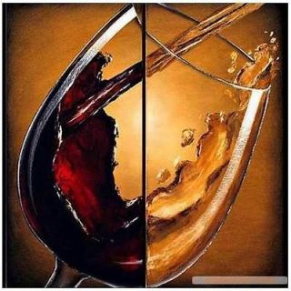 Hot Sell Abstract Modern Wall Deco Oil Painting cheers No Frame