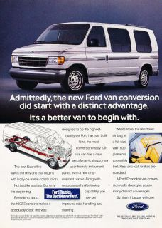 conversion van ford in E Series Van