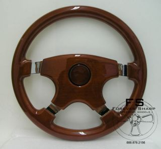 Wood Steering Wheel in Car & Truck Parts