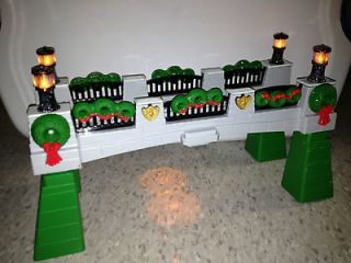 Geotrax Geo Trax Train ToyTown Christmas Holiday Bridge Light Sound