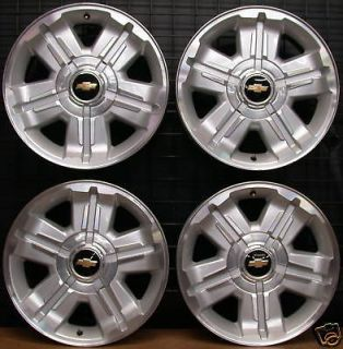 NEW Factory Chevy Suburban Silverado Tahoe Avalanche Chrome 20 Wheels