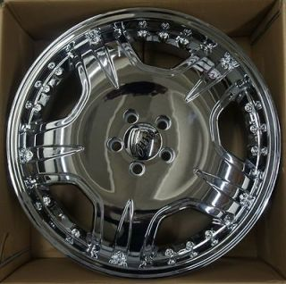 Pick Up Only New (4) 20 Gino Chrome Wheel Set Fit Magnum Charger 300