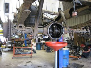 chevy silverado rear differential