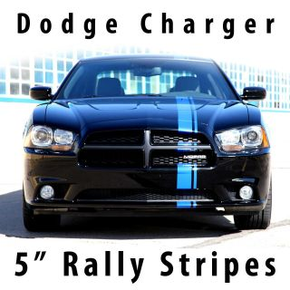 Dodge Charger Mopar Style Racing stripe stripes 5 2011 & Up (Fits