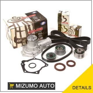 97 99 Mitsubishi Montero Sport 2.4L SOHC Timing Belt Kit + GMB Water