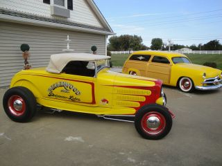 Ford  Other roadster 1929 FORD CONVERTIBLE HOT ROD STREET ROD MUST