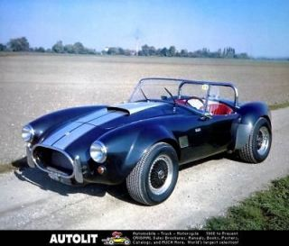 1986 Ford Tomaszo Shelby Cobra Kit Car Factory Photo