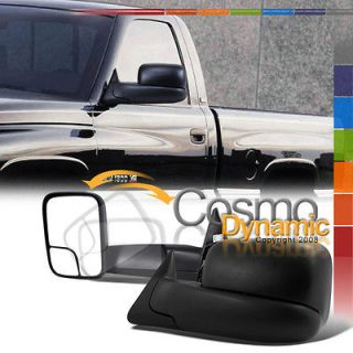 DODGE 94 97 RAM 1500 TRUCK CAMPER TOWING MIRRORS POWER