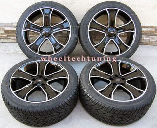 20 RANGE ROVER WHEEL & TIRE PACKAGE SPORT HSE STORMER BLACK WITH