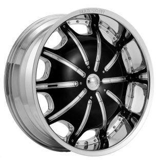 AND TIRES WHEELS ROCKSTARR 557 CHROME JEEP GRAND CHEROKEE 26 28 30
