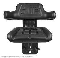 Tractor Seat w Suspension fits most Kubota M Series Tractors and more