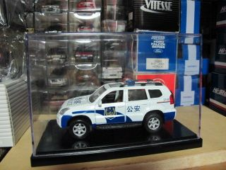 Toyota Land Cruiser Prado China Police car boxed 1/32 free ship