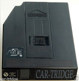 CARTRIDGE FOR BMW PORSCHE MERCEDES JAGUAR VOLVO AUDI 6 DISC CD CHANGER