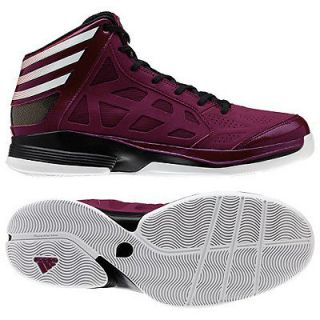 ADIDAS CRAZY SHADOW BASKETBALL SHOES G59154 NEW MAROON / WHITE