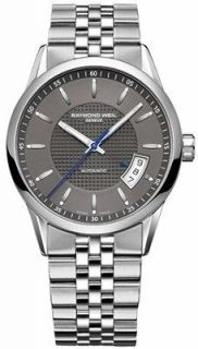 60021  GIFT FOR HIM NEW RAYMOND WEIL FREELANCER MENS AUTOMATIC WATCH