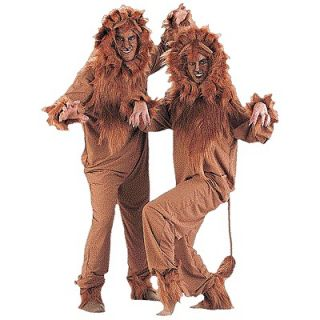 Wizard of Oz Animal Jungle Safari Dress Up Halloween Adult Costume
