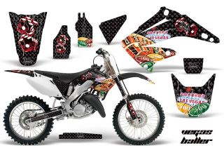 AMR RACING DIRT BIKE MOTORCYCLE GRAPHIC DECAL KIT HONDA CR 125 250 R
