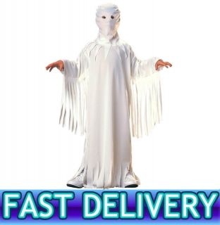 Childrens Boys Girls Kids Scary Ghost Fancy Dress Costume S,M,L 3 10