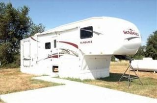 2008 Heartland Sundance 33ft Fifth Wheel Trailer, Slide Out, Never