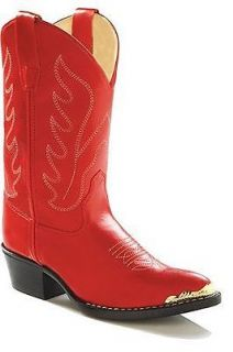 red cowboy boots in Kids Clothing, Shoes & Accs