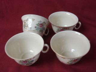 Royal Epiag Czechoslovakia china dinnerware Greta set 4 cup