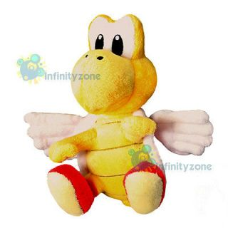 NEW Super Mario Bros 6 Red Koopa Troopa Paratroopa Soft Plush Figure