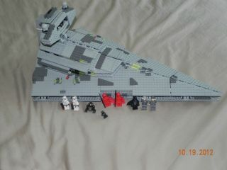 Lego Star Wars Imperial Star Destroyer 6211 with mini figs