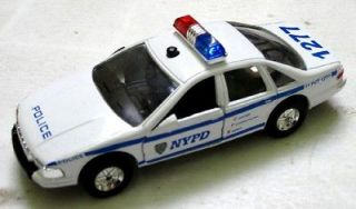 diecast police cars lights in Diecast Modern Manufacture