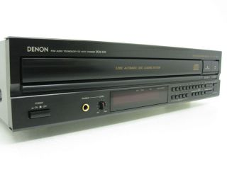 Denon DCM 520 Compact Disc Multi Player Changer 5 CD