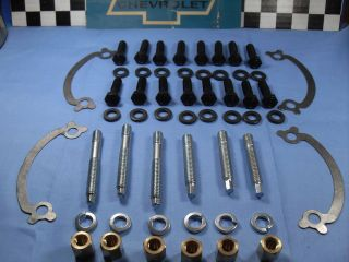 65 67 CHEVY CAMARO CHEVELLE IMPALA Exhaust Manifold Bolts Big Block