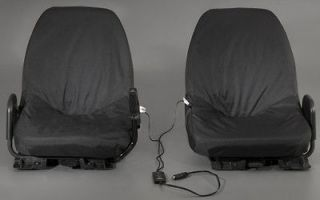 Yamaha Rhino Heated Seat Cover Kit Black Driver & Passenger