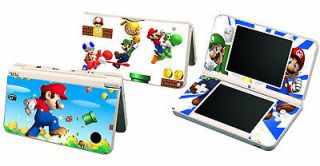 Super Mario Bro Vinyl Decal Skin Sticker for Nintendo DSi NDSi XL LL