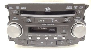 ACURA TL Radio Stereo 6 Disc Changer  CD DVD Player 07 08 1TB4