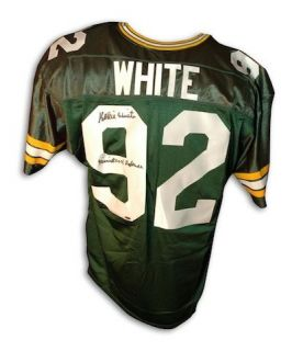 Green Bay Packers Autographed Reggie White Jersey