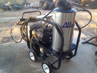 Steam Cleaner Hot Cold 3000PSI Pressure Washer Electric Diesel