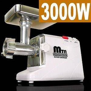New 3000W Electric Meat Grinder Sausage Stuffer 3.4 HP