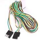 20 ft (240) 4 Pin Way Wire Flat TRAILER LIGHT EXTENSION CORD Plug
